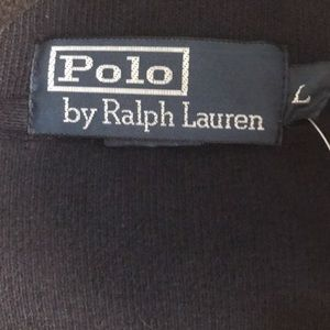 Polo by Ralph Lauren Sweaters - NWT Polo by Ralph Lauren zip up sweater navy blue